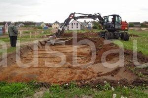 Die Vertreter des Landesamtes für Denkmalpflege hofften während der Tiefbauarbeiten auf einen Fund.