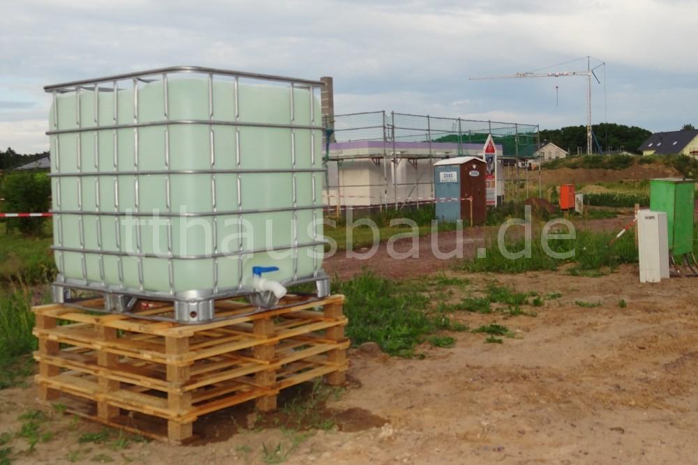 Bauwasser und Baustrom auf der Baustelle
