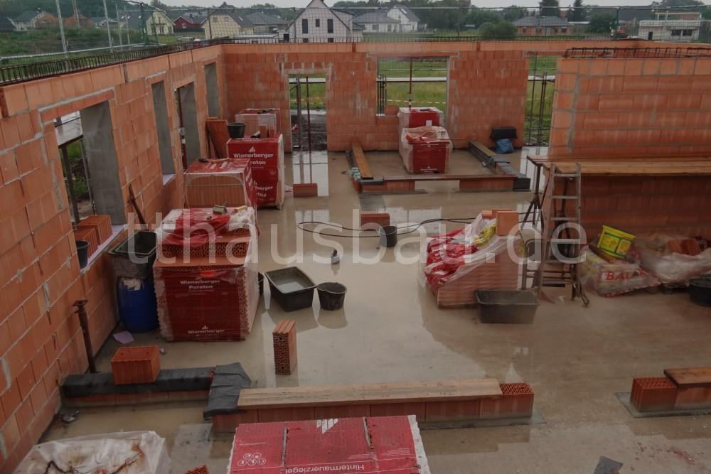 Bauwoche 09 – Mauerarbeiten Innenwände