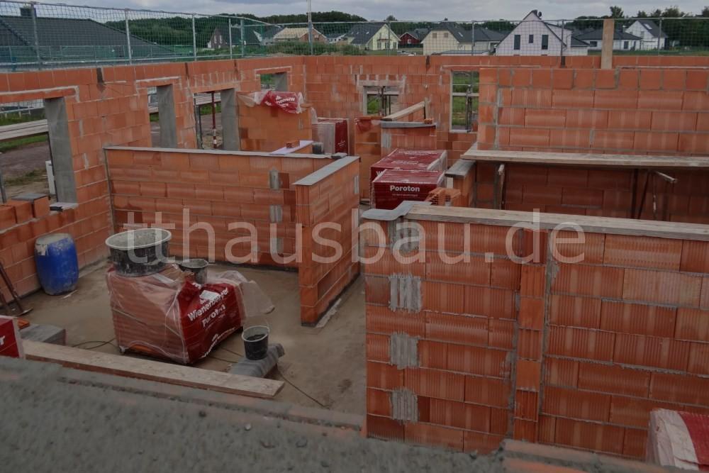 Mauerarbeiten – Tag 16 und 17